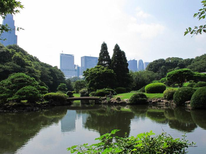 新宿必見ポイントベスト10:新宿御苑