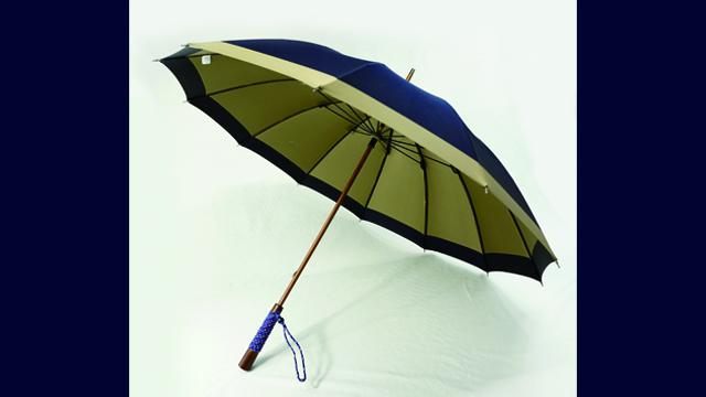 職人の作る傘の魅力展
