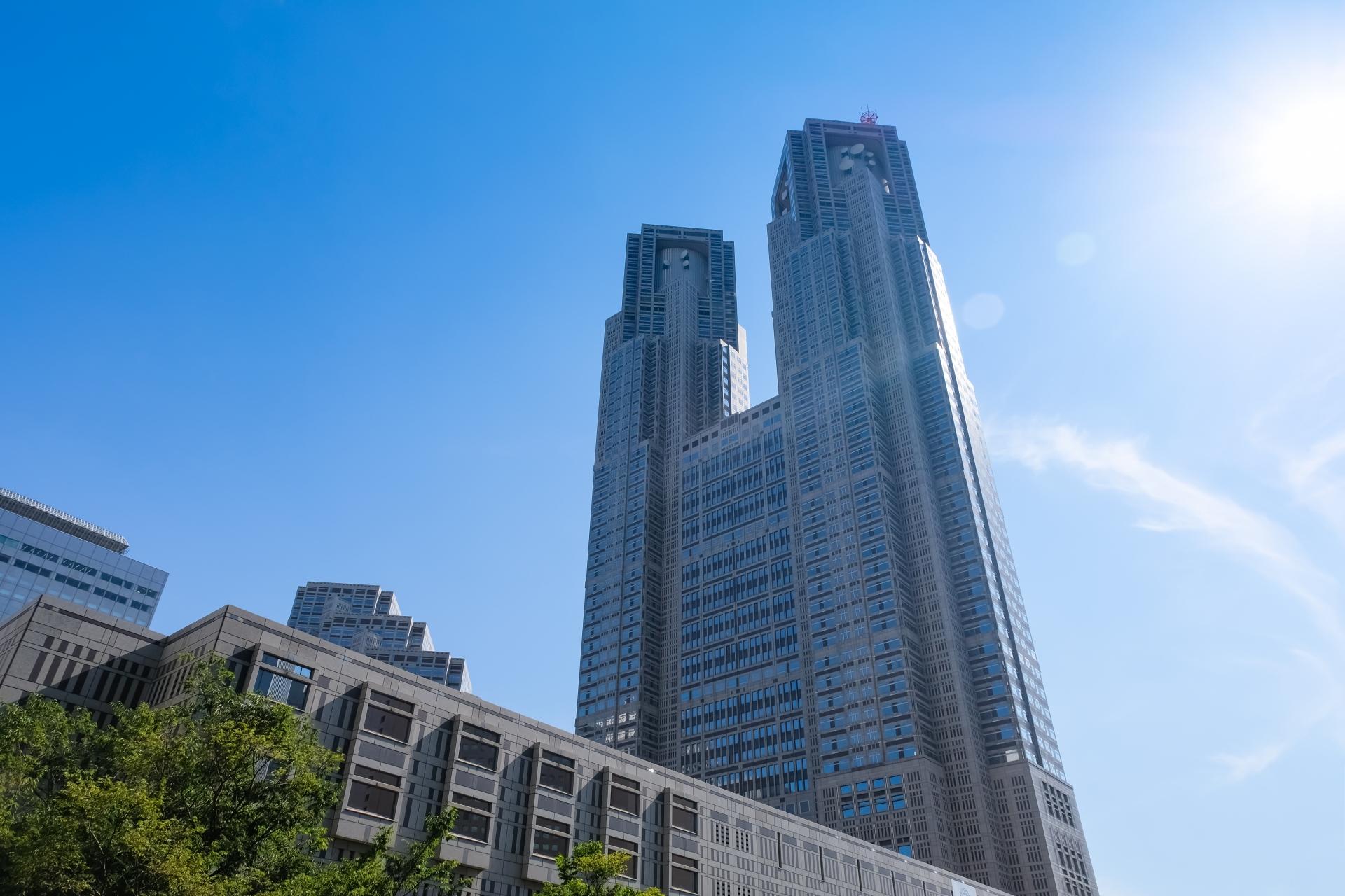 新宿の観光スポット『東京都庁舎』