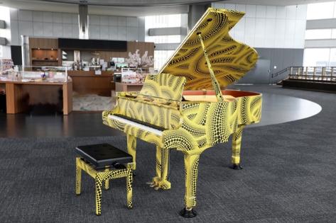 東京都庁の展望室『都庁おもいでピアノ』