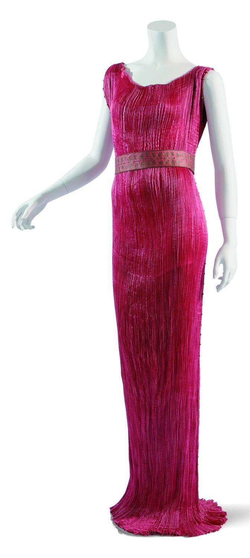 ドレス 1910-20年代 イタリア フォルチュニイ