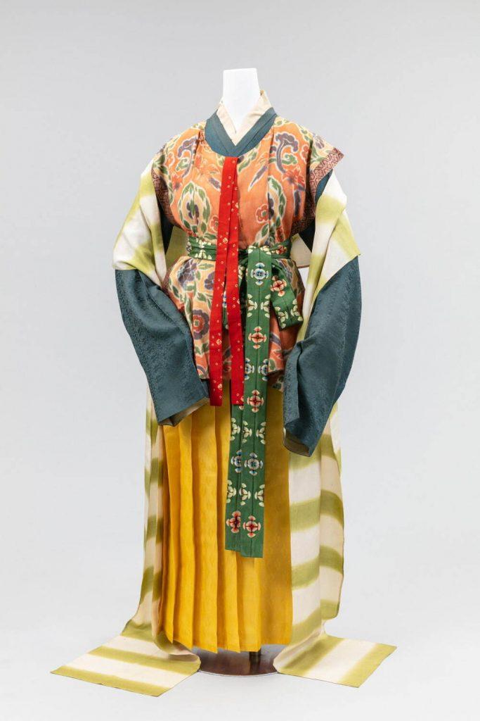 時代衣装 飛鳥・奈良時代 昭和6年〜8年 (公社)京都染織文化協会所蔵