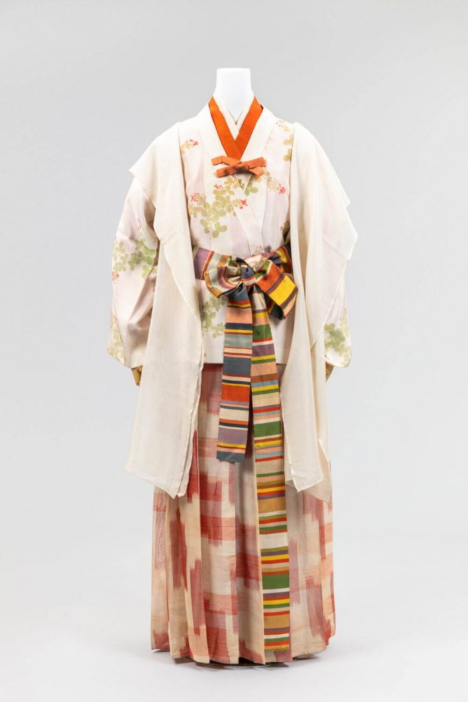 時代衣装 古墳時代 昭和6年〜8年 (公社)京都染織文化協会所蔵