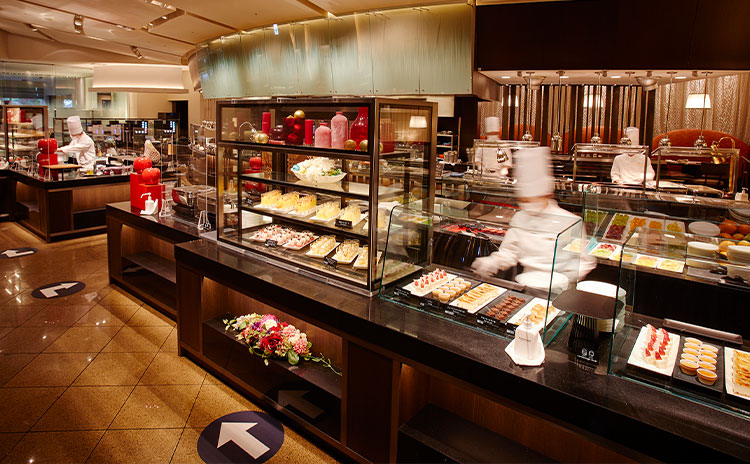 【スーパーブッフェ<グラスコート>付き】 日清カップヌードル50周年コラボプラン(1泊2食付き)