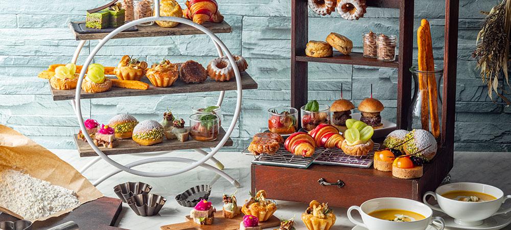プティ・ブーランジェリーwith ART OF TEA